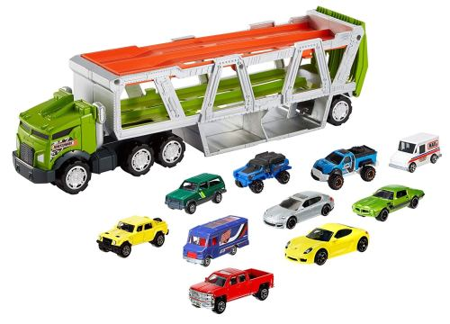 Matchbox Transporter Vehicle - Holiday Gift Guide for 3-5 Year Olds - At Home With Zan