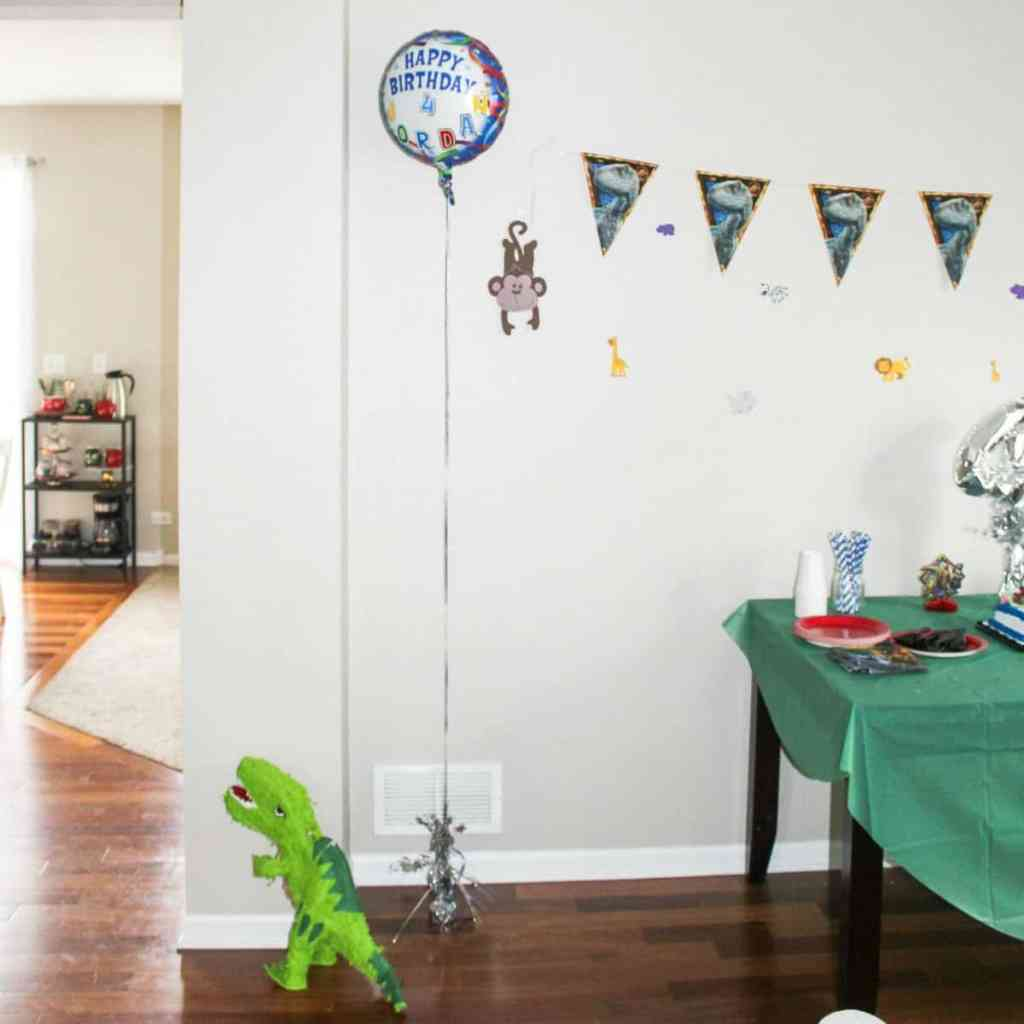 dinosaur birthday party for kids
