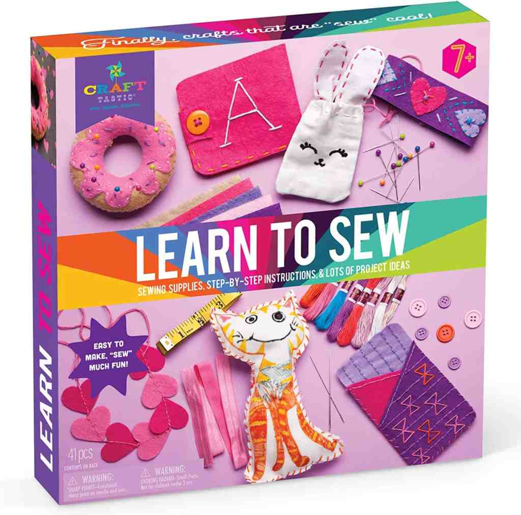 craft sewing kit for kids