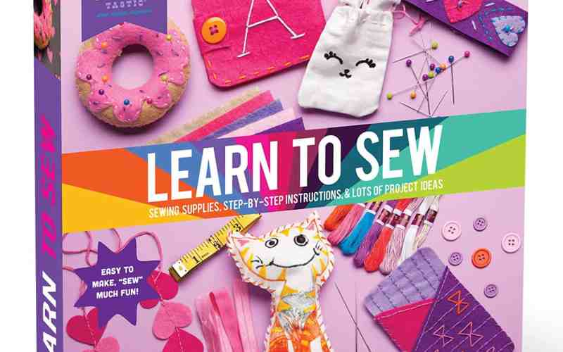 Craft Sewing Starter Kit for Little Girls