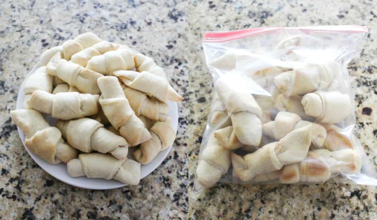 Freezer Croissant Rolls