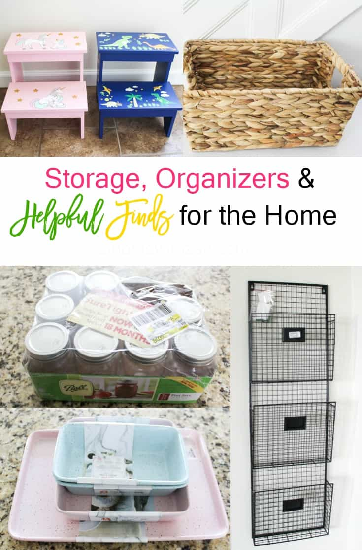 Storage and Organizers and Helpful Finds for the Home