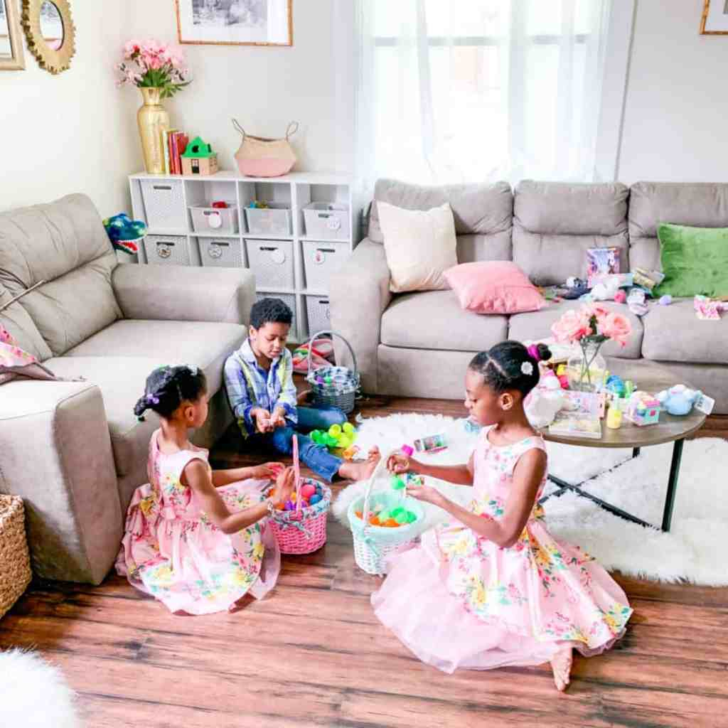 Easter at Home - At Home with Zan