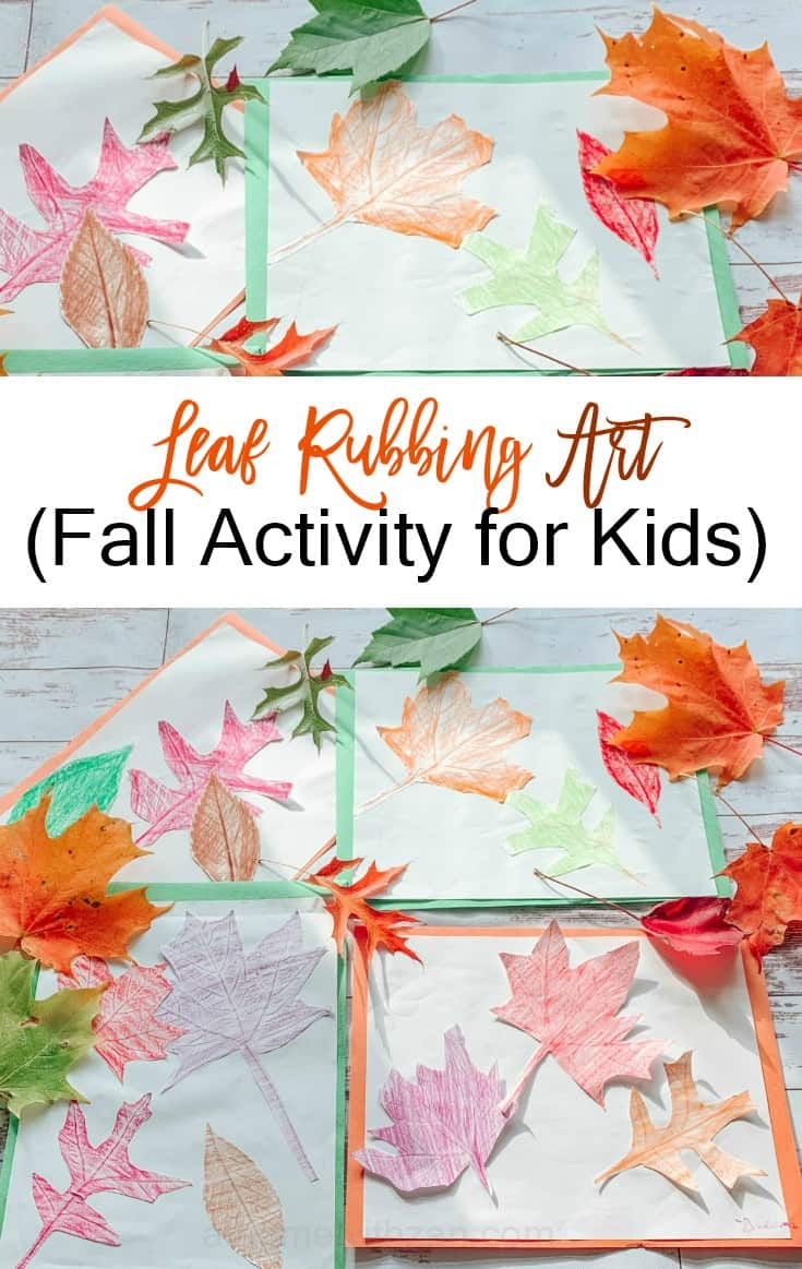 Fall Leaf Rubbing - Fall Leaf Printing - Fall Activities for Kids - Fall Crafts for Kids - Leaf Craft Ideas for Kids - athomewithzan (2)