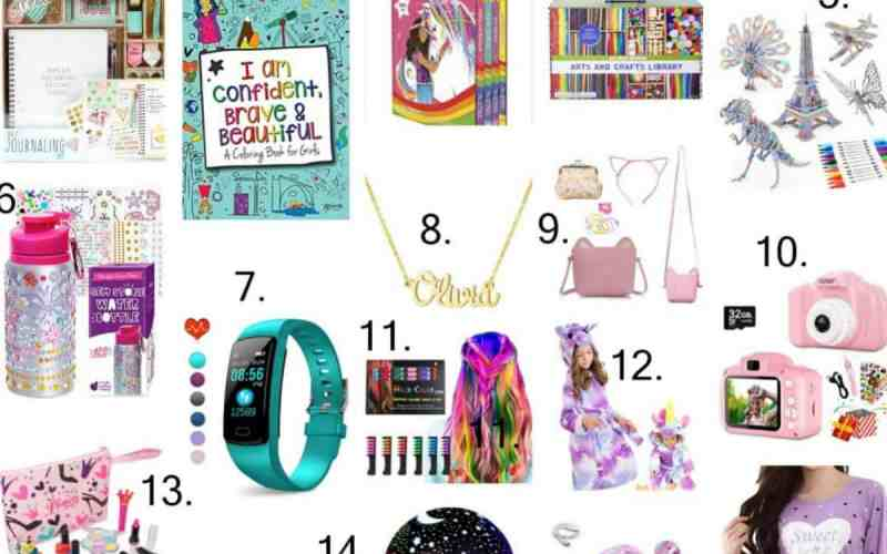 Holiday Gift Guide – Gifts for 10 Year Old Girls