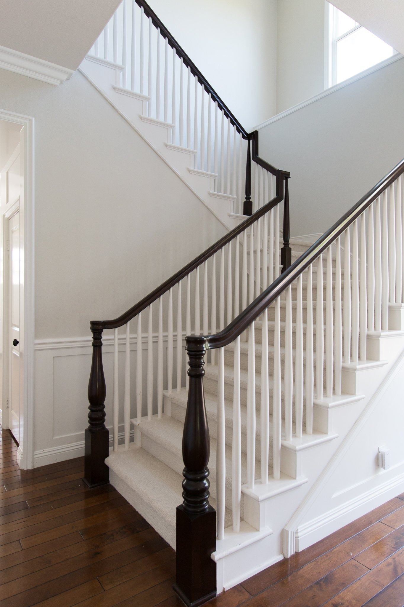 Choosing What To Put On Our Stairs A Thoughtful Place   Matching Stairs To Hardwood Floors   Laminate Flooring   Refinishing Hardwood   Stain   Staircase   Wide Plank