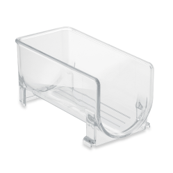 While the rine rack Fridge Binz is probably the most fitting for me, we have several options on our Bed Bath & Beyond registry that make organizing the fridge a breeze.