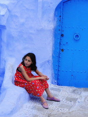 Chefchaouen Child
