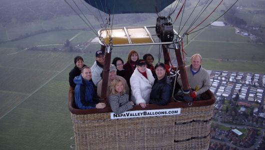 Napa Valley, CA Hot Air Balloon Ride