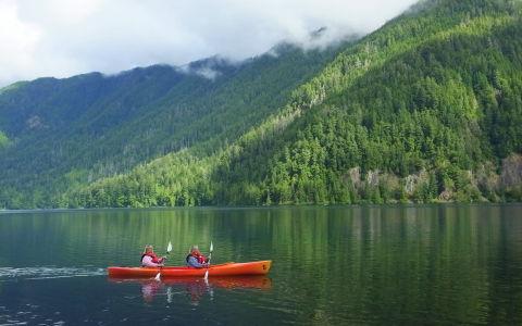 Lake Crescent Lodge - Olympic National Park, WA