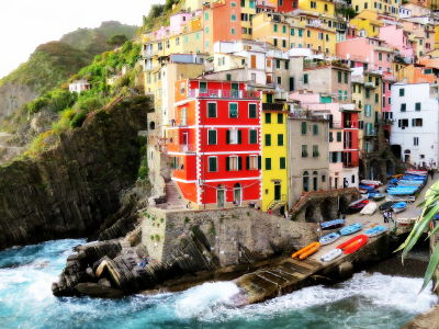Corniglia - The Cinque Terre - Italy