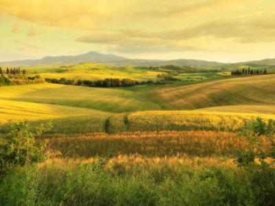 Val d'Orcia Drive - Tuscany, Italy