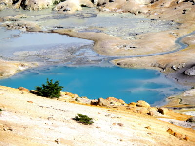 Bumpass Hell - Lassen Volcanic National Park