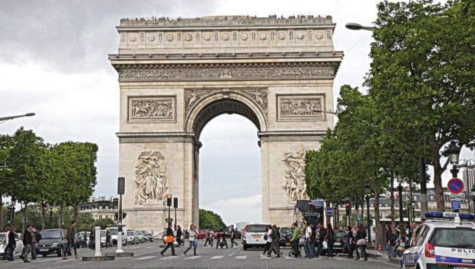Arc de Triumphe - Paris, France