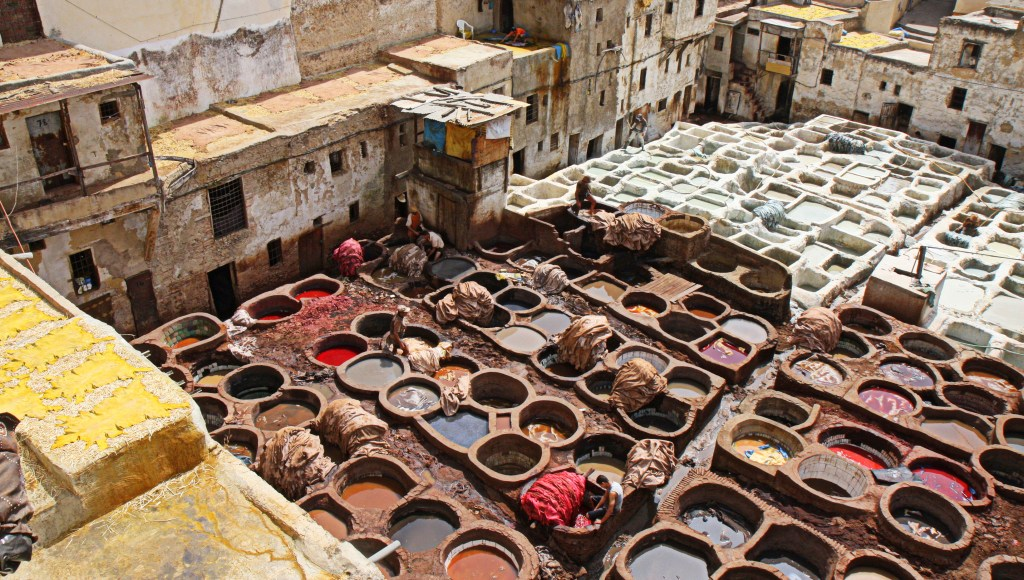 116  Fez Tannery - Fez, Morocco - A THOUSAND PLACES   A