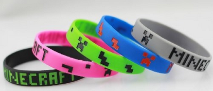 Image result for minecraft bracelets