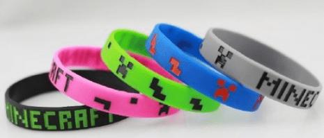 Image result for minecraft bracelets