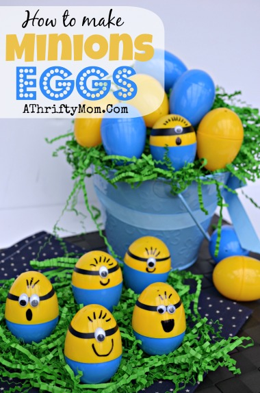 Minions Eggs, How to make Minions Easter Eggs, #Minions, #Eggs, #Easter