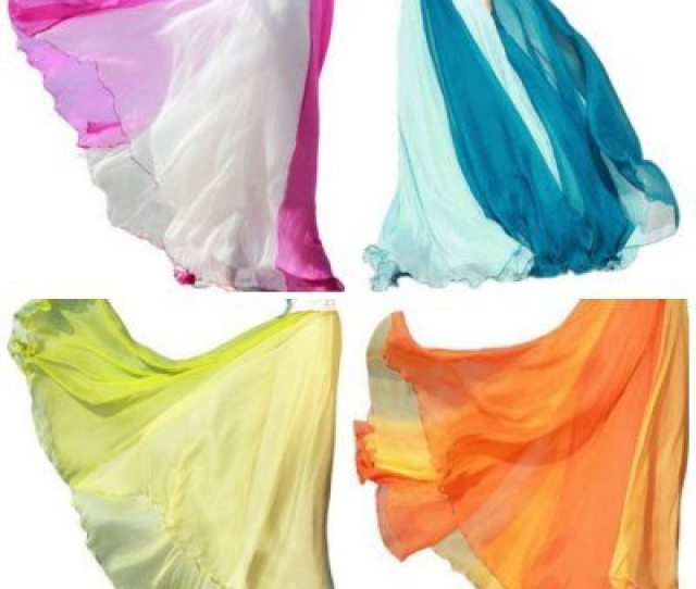 Long Flowing Two Color Chiffon Maxi Skirts On Sale A Thrifty Mom Recipes Crafts Diy And More