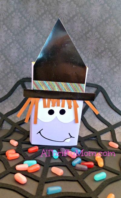 Candy Wrapper Gift Card Money Holder Halloween Mummy