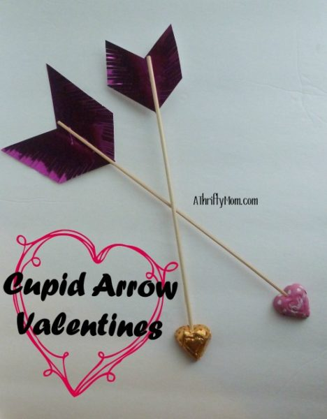 Cupid Arrow Valentines Quick Easy Great For Class Parties