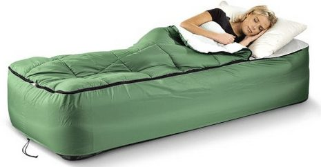 Fitted Air Mattress Bedding Sleeping Bag A Thrifty Mom