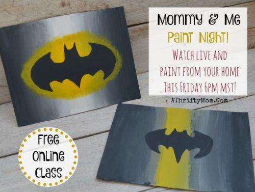 Superhero Paintings Canvas Easy