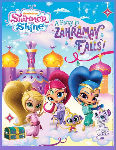 Free Printable Shimmer And Shine Coloring Book