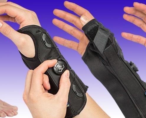 hand, wrist, foot, boa supports