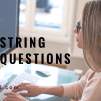string Interview questions in C