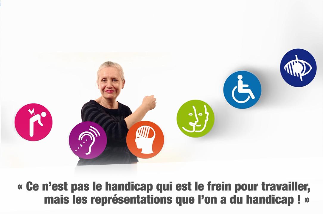 « Ce n'est pas le handicap qui est le frein pour travailler, mais les représentations que l'on a du handicap ! »