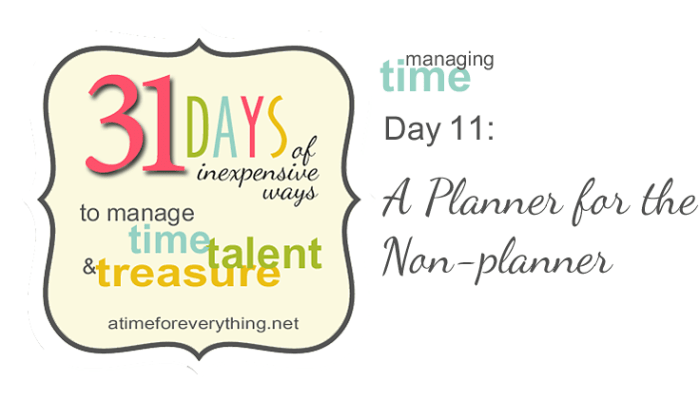 A Planner for the Non-planner