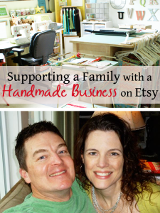 Selling full time on Etsy and supporting a family of six with a handmade business