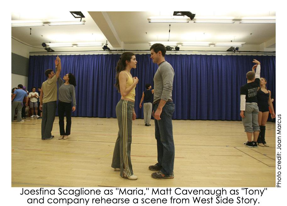Josefina Scaglione and Matt Cavenaugh
