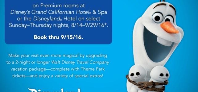 Save up to 25% at Disneyland Resort Hotels!