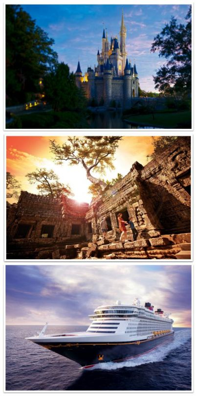 destinations collage