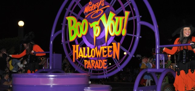 Mickey's Not So Scary Halloween Party Review