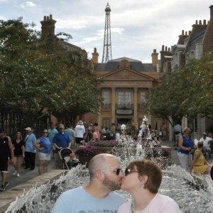 Fountain Kiss