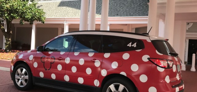 "Have you ""spotted"" the new Minnie Vans yet?"