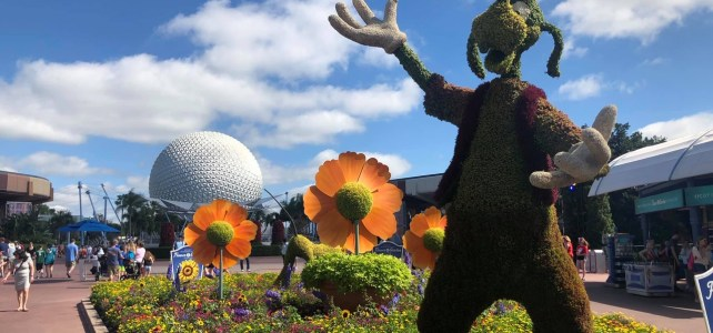 Amazing Topiaries at Epcot's Flower and Garden Festival