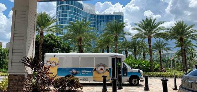 SuperStar Shuttle at Universal Orlando