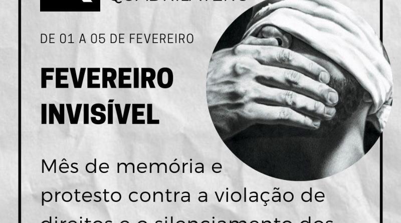 Fevereiro Invísivel marca violações em Barão de Cocais