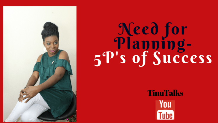 Need For Planning