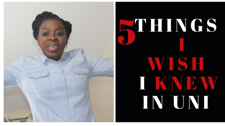 things I wish i knew when i was in uni