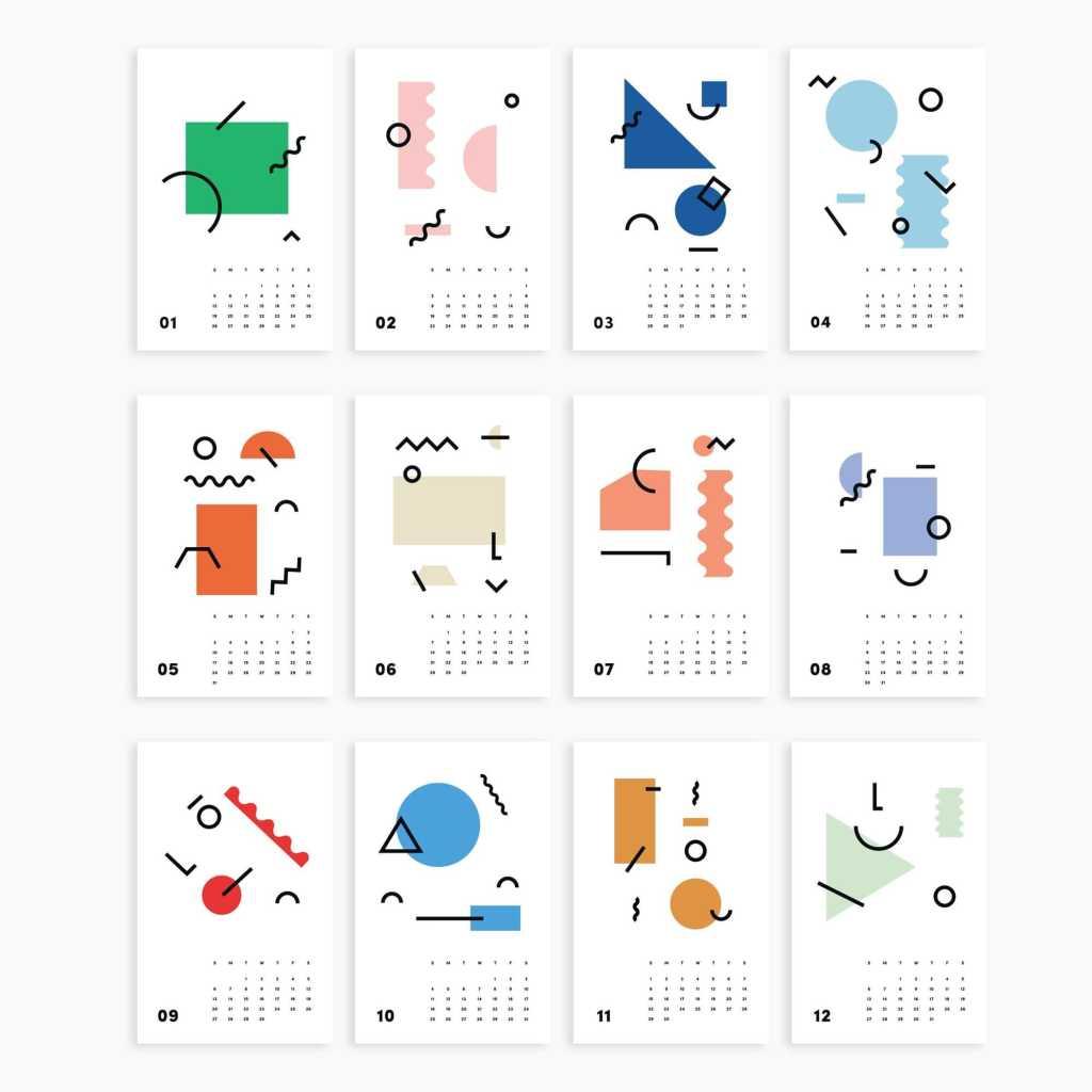 Poketo Calendar