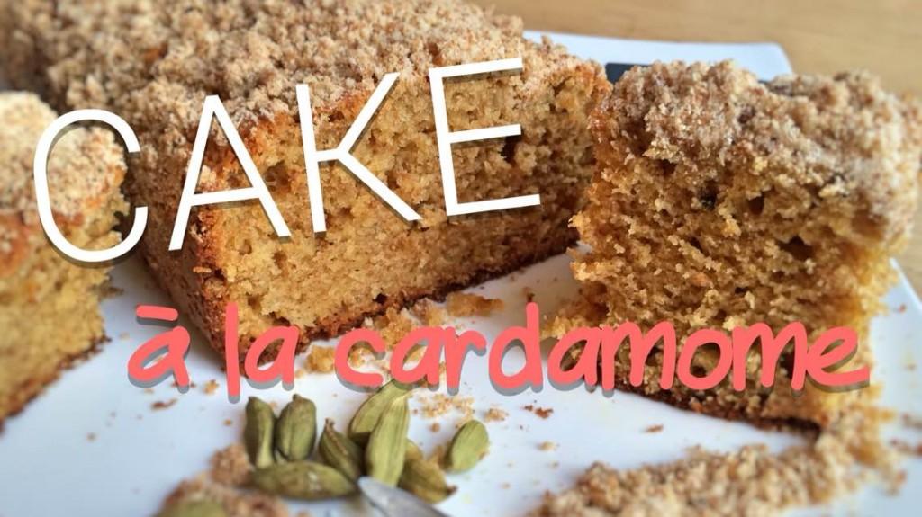 cake à la cardamome