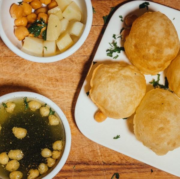 Pani Puri / Golgappa Platter (4Pcs)