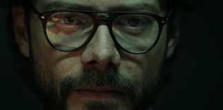 Álvaro Morte interpretando O Professor em 'La Casa de Papel' (Netflix)