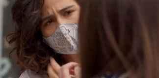 Nanda Costa interpretando Érica em 'Amor de Mãe' (Globo)