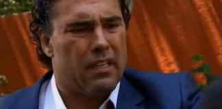 Eduardo Yáñez interpretando José Ângelo em 'Amores Verdadeiros' (Sbt)